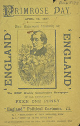 Advert For 'England', Comic Newspaper